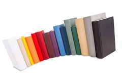 Colored books Royalty Free Stock Image