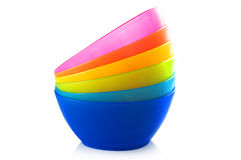 Colored bowl Stock Image