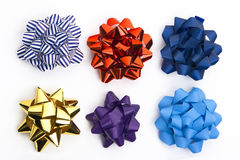 Colored bows Stock Photography
