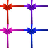Colored bows Stock Photo