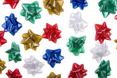 Colored bows Royalty Free Stock Photography
