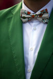 Colored bowtie Stock Images