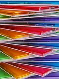 Colored boxes Royalty Free Stock Image