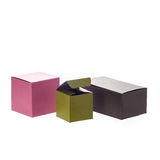 Colored boxes royalty free stock images