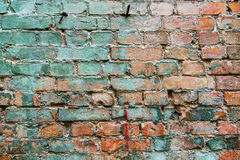 Colored brick wall Stock Photo