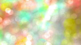 Colored Bright Spots in Bokeh stock footage