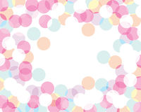 Colored bubbles. Abstract background - colored bubbles. suitable for different designs Royalty Free Stock Images