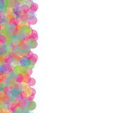 Colored bubbles. Abstract background - colored bubbles. suitable for different designs Stock Image