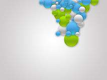 Colored Bubbles Background Royalty Free Stock Photos