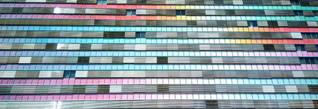Colored Building Royalty Free Stock Image