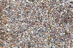 Colored building pebbles. Stock Image