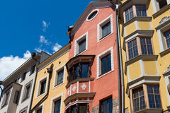 Colored building Stock Photos