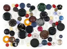 Colored buttons Stock Photography