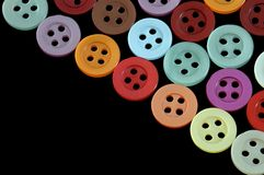 Colored buttons Stock Image