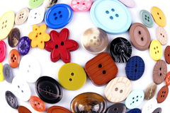 Colored buttons Stock Images
