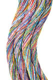 Colored cables Royalty Free Stock Photos