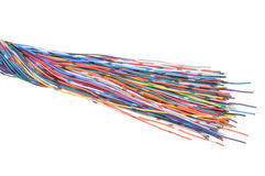 Colored cables Stock Photo