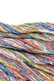 Colored cables Stock Photos