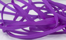 Colored cables. Royalty Free Stock Photos