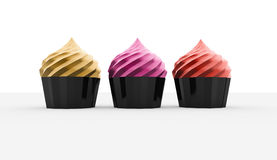 Colored cakes Stock Photos
