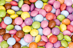Colored candies Stock Photos