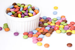 Colored candies Royalty Free Stock Images