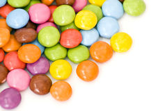 Colored candies Stock Photo