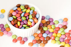 Colored candies Royalty Free Stock Photos