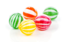 Colored candies Stock Images