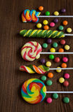 Colored candies Royalty Free Stock Photography