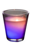 Colored candle Royalty Free Stock Photos