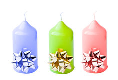 Colored candles Stock Photo