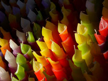 Colored Candles Royalty Free Stock Photo