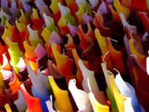 Colored Candles Stock Images