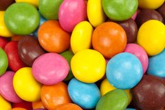 Colored candy Stock Image