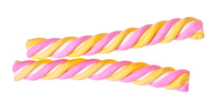 Colored Candy Stick Stock Photography