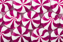 Colored candy on white background. Candy background Royalty Free Stock Photo