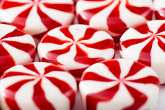 Colored candy on white background. Candy background Royalty Free Stock Photography