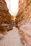 Colored canyon Royalty Free Stock Photography