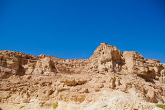 Colored Canyon in Egypt Royalty Free Stock Photography