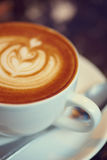 Colored cappuccino Stock Photography