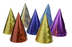 Colored caps Royalty Free Stock Photography