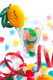 Colored caramel sweets, party Royalty Free Stock Photos
