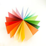 Colored cardboard Stock Photos