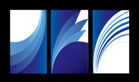 Colored cards abstract background sample Royalty Free Stock Photography