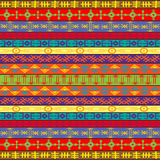 Colored carpet with ethnic ornaments Royalty Free Stock Photography