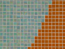 Colored ceramic mosaic tiles texture Stock Photo