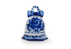 Colored ceramics bell Royalty Free Stock Image