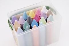 Colored Chalk 1 stock photography
