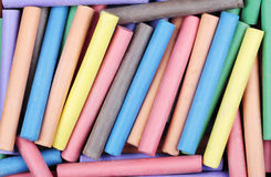 Colored Chalk Royalty Free Stock Photos
